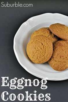 Eggnog Cookies - Suburble.com