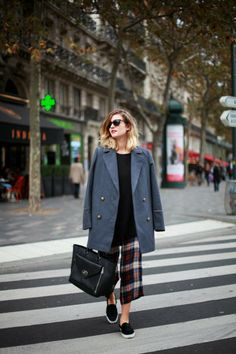 adenorah- Blog mode Paris: PONY + PLAID