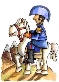 17 de Agosto: Recordando a José de San Martín - Mi Sala Amarilla Preschool Activities, Peru, Disney Characters, Fictional Characters, Projects To Try, Clip Art, Lily, Children, Animals