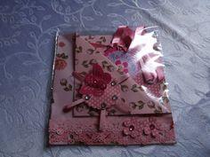 Convite em scrapbook - by Rose Oak