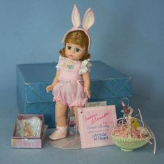 Madame Alexander Limited Edition  Child at Heart Easter Bunny MIB | Dolls & Bears, Dolls, By Brand, Company, Character | eBay!