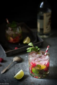 Raspberry Mojito by Julie Longet on 500px