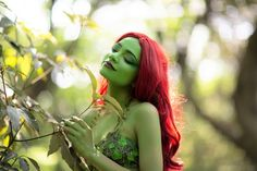 The Kiss of Dawn - Poison Ivy Print 4