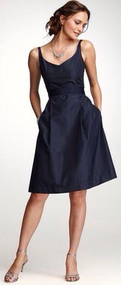 Navy Little Dress