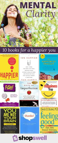 In this busy world we all need a little perspective once in awhile. Invest in your personal happiness with tips from these best-selling books.