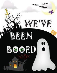 You've Been Booed Printable and Ideas