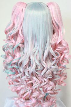 I'd totally wear this plush wig