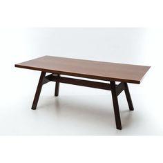 Tavolo da pranzo Torbecchia designer Giovanni Michelucci produttore Poltronova Made in Italy anno 1964 colore marrone in legno