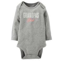 "Carter's ""Grandpa's Girl"" Bodysuit - Baby"