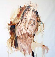 "Cesar Biojo ""Estuche 1"" painting / 2013"