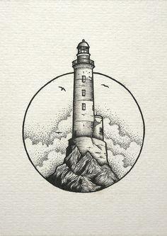 inspiration lighthouse light cloud drawing Cloud draw drawing Inspiration Light Lighthouse is part of Stippling art - Cool Art Drawings, Pencil Art Drawings, Art Drawings Sketches, Tattoo Drawings, Tattoo Sketches, Simple Drawings, Cloud Drawing, Drawing Drawing, Drawing Tips
