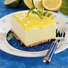 Lemon Lime Dessert - My ABSOLUTE favorite dessert!  And you can make it up to 3 months ahead of time.