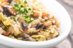 Because arborio rice is naturally creamy, you can skip the butter and cheese and still get a rich te... - Irina Bg/shutterstock
