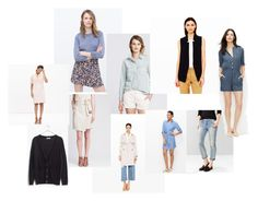 Items by stylebyali on Polyvore featuring Madewell, Banana Republic, Zara and Gap