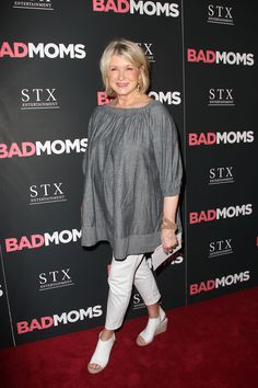 "Martha Stewart at the ""Bad Moms"" NY premiere"