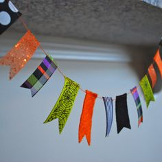Halloween Ribbon Garland