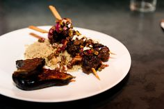 Jones; Grilled Turkish Lamb Kebabs with Pomegranate & Pistachio ...