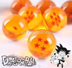 Find More Action & Toy Figures Information about Dragon Ball Crystal Balls 4.5CM 7 Stars Set of 7 PCS Balls Complete Set New In Box Classic Action Figures Toys,High Quality crystal ball shamballa bracelet,China ball linkage Suppliers, Cheap crystal aluminium from LOL Toy Space on Aliexpress.com