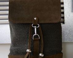 Crocher Messenger& Shoulder Bag
