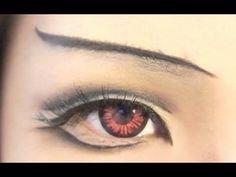 Tutorial : Anime Eye Makeup 12