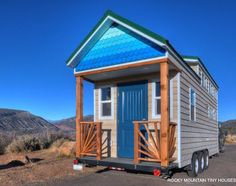 This is the Ol' Berthoud Blue Tiny House on Wheels! It's built by Rocky Mountain Tiny Houses in beautiful Durango, Colorado. Related: Bayfield Tiny House by Rocky Mountain Tiny H…