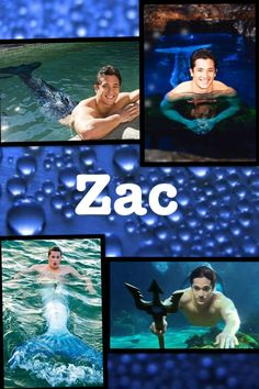 Zac from Mako Mermaids  I do not own any of these images
