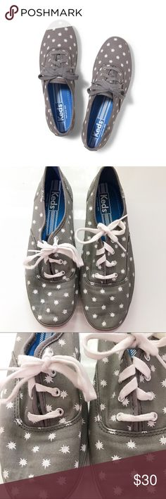 Keds Champion in Starburst These adorable Keds are in great shape! I've worn them a handful of times but they're just a little too small for me. Feel free to ask any questions or make a reasonable offer! Keds Shoes Sneakers