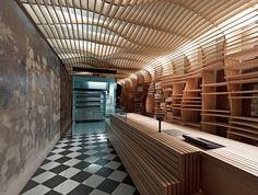 The beautiful Baker D. Chirico bakery
