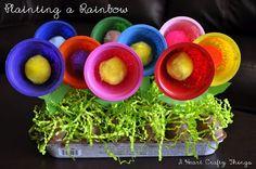 I HEART CRAFTY THINGS: Planting a Rainbow