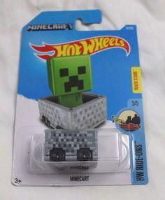 HotWheels Minecraft HW Ride-Ons Track Stars 5/5 70/250 2016 New RARE NLA CAR BOY #Mattel #Minecraft