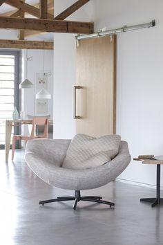 Design met naturel tinten fauteuil Gigi - Gerard van den Berg
