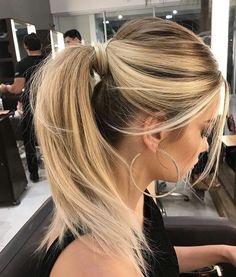 Love this ponytail ❤️