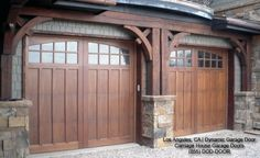 Classic & Traditional Custom Wood Carriage House Style Garage Doors traditional garage and shed