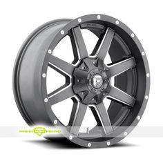 Fuel Maverick D542 Gun Metal Wheels For Sale & Fuel Maverick D542 Rims And Tires