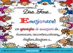 copertina Social Service Jobs, Social Services, Italian Language, Art Therapy, Kids And Parenting, Science, Teaching, Activities, Feelings