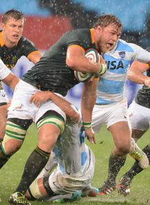 Duane Vermeulen of the Springboks Rugby Championship South Africa v Argentina