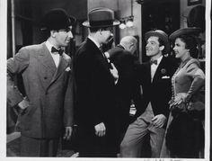 George Murphy, Gene Kelly, and Judy Garland