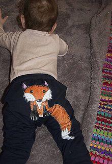 Detské oblečenie - Líščie gaťoše - 7645529_