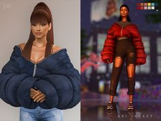 Roli Cannoli CC Findz Corner — jwofles-sims: ari jacket - acessory - new mesh. Sims 4 Mods Clothes, Sims 4 Clothing, Die Sims 4 Packs, Sims 4 Cc Finds, Sims Community, Sims Resource, My Sims, Sims 4 Custom Content, 4 Kids