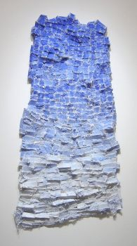 Elisa Darrigo sewn and constructed cloth and paper works