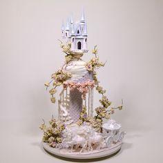 Fairy Tale Wedding Cake - http://cakesdecor.com/cakes/296173-fairy-tale-wedding-cake