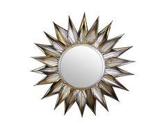 Wandspiegel Orbec Castleton Home Sun Mirror, Over The Door Mirror, Window Mirror, Sunburst Mirror, Round Wall Mirror, Dresser With Mirror, Round Mirrors, Overmantle Mirror, Cottage Chic