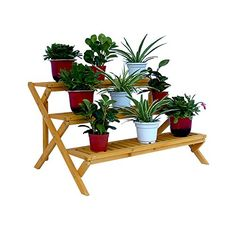 3ft Outdoor Garden Planter Plant Stand Vase Holder 3 Tier Raised Elevated Bed RMG4H4E54 E4R46T32506321 *** Check out the image by visiting the link. (This is an affiliate link) #gardeningtools