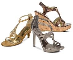 Snake Charmers: Come slither and see what rocks this month as Carlos by Carlos Santana unleashes must-have snake print shoes for spring.