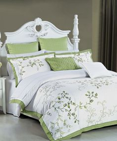 Love this Wisteria Duvet Cover Set on #zulily! #zulilyfinds