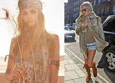 bohemian fashion and style