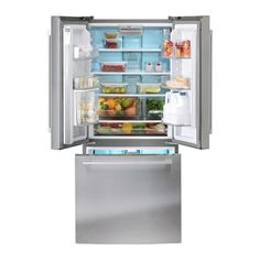 IKEA - NUTID, Réfrigérateur 3 portes, Garantie 5 ans gratuite. Renseignements complets dans notre livret de garantie.Fonction refroidissement rapide pour réfrigérer rapidement des produits frais ou des boissons ; pratique après un remplissage important du réfrigérateur.Grâce aux balconnets réglables, vous gagnez de la place pour stocker les emballages volumineux .Purificateur d'air intégré pour réduire les odeurs de nourriture.Ventilateur qui procure une température égale afin de…