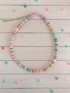 Trendy Jewelry, Cute Jewelry, Diy Jewelry, Summer Jewelry, Beaded Jewelry, Handmade Jewelry, Jewelry Making, Beaded Bracelets, Surf Necklace