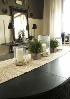 The Dining Room | House to Your Home Board and batton added.