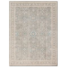 A modern interpretation of traditional Persian styles, the Ella Rose area rug is simultaneously vintage and of-the-moment. Designed in tandem with Joanna Gaines of Magnolia Home, the intentionally faded designs create a truly transitional look, one that looks at home in both classic and contemporary homes. Power loomed in Turkey of polypropylene and viscose. Pattern may vary depending on the size of the rug. Magnolia Home designed by Joanna Gaines.